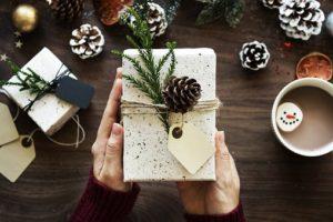 doma narejena božična darila