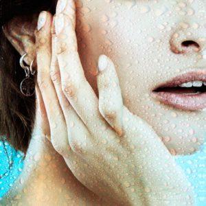 suha koža na obrazu