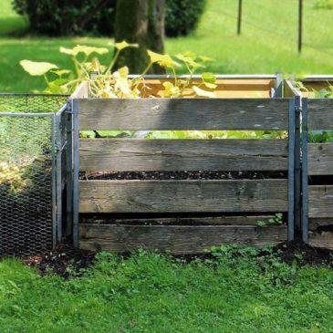 Priprava ekološkega komposta za zelenjavni vrt