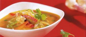 zeljna juha za čiščenje telesa